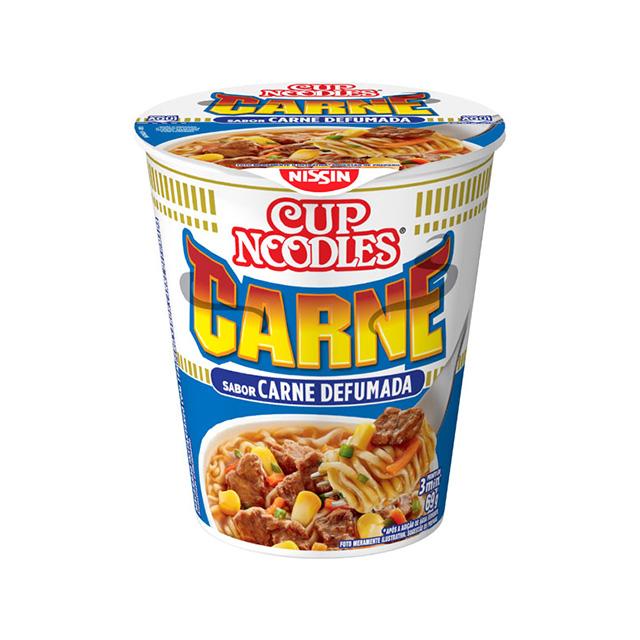 Cup Noodles Carne Defumada 69g