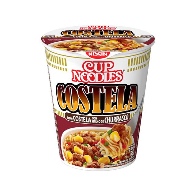 Cup Noodles Costela Molho Churrasco 68g
