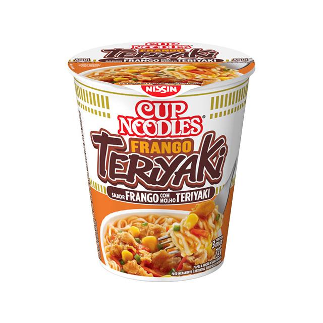 Cup Noodles Frango Teriyaki 72g