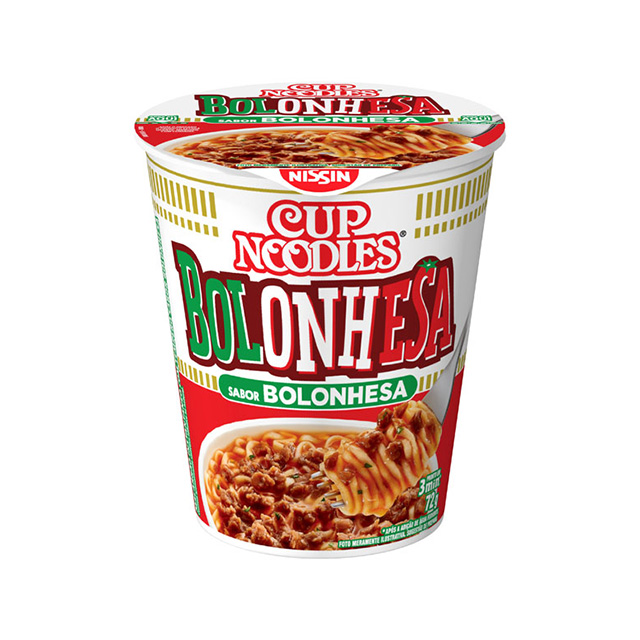 Cup Noodles Bolonhesa 72g