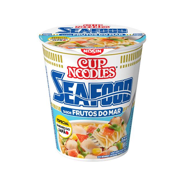 Cup Noodles Frutos do Mar 65g