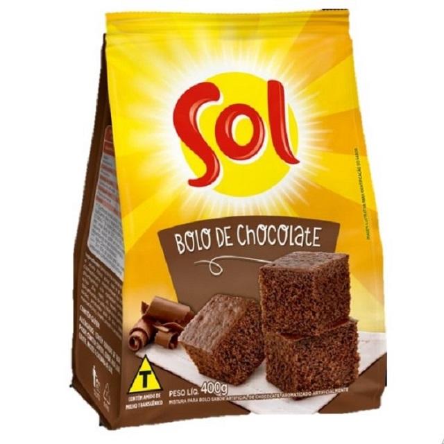 Mistura para Bolo Sol Chocolate 400g
