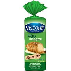 Pão de Forma Visconti Integral 400g