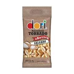 Amendoim Salgado Dori Torrado de Boteco Salgado 40g