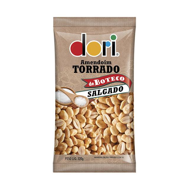 Amendoim Salgado Dori Torrado de Boteco Salgado 320g