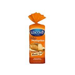 Pão de Forma Visconti Multigrãos 370g