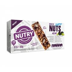 Barra Nuts Zero Nutry Açaí 30g com 2 und