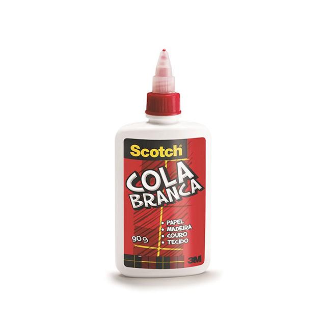 Cola Scotch Líquida Branca 3M 90g