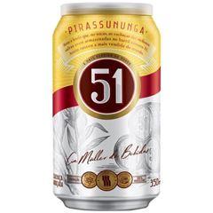 Cachaça 51 Lata 350ml