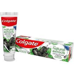 Gel Dental Colgate Natural Extracts Purificante Carvão Ativado e Menta 90g