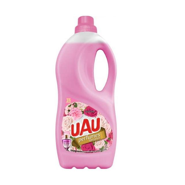 Amaciante Uau Perfume Romance Rosa 2L