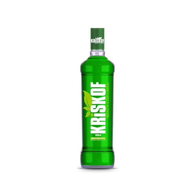 Vodka Kriskof Menta com Limao 900ml