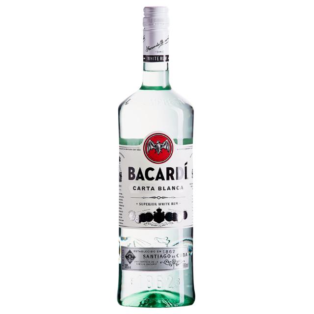 Rum Bacardi Carta Branca 980ml