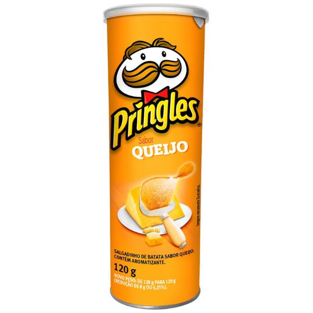 Batata Pringles Sabor Queijo 120g