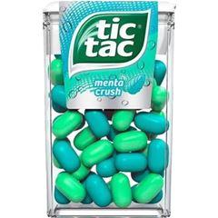 Tic Tac Menta Crush 16g - Atado com 14 unidades
