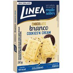 Chocolate Branco Linea Cookies N Cream 30g