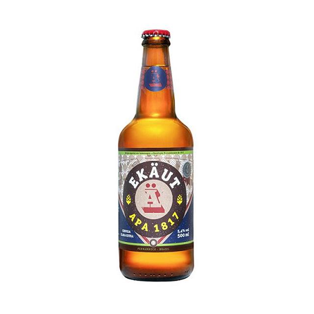 Cerveja Ekaut APA 1817 500ml