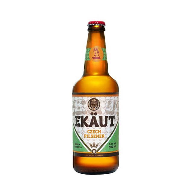 Cerveja Ekaut Czech Pilsner 500ml