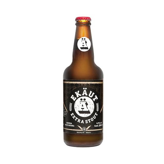 Cerveja Ekaut Extra Stout 500ml