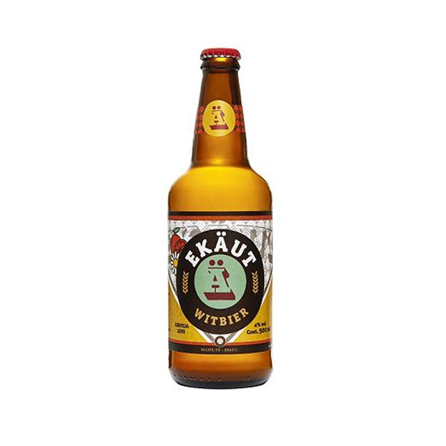 Cerveja Ekaut Witbier 500ml