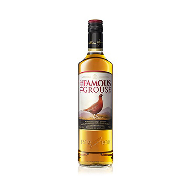 Whisky Escoces THE FAMOUNS GROUSE 750 ml