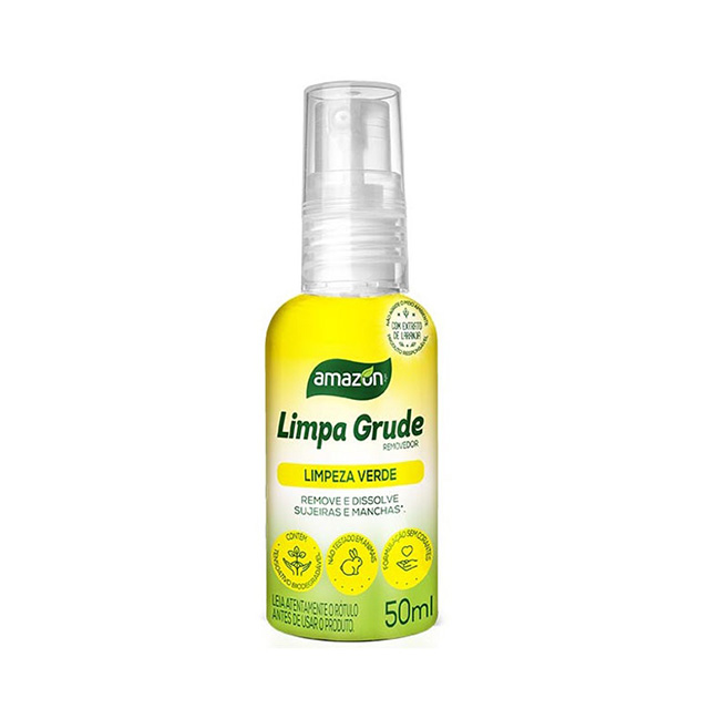 Limpa Grude Amazon 50ml