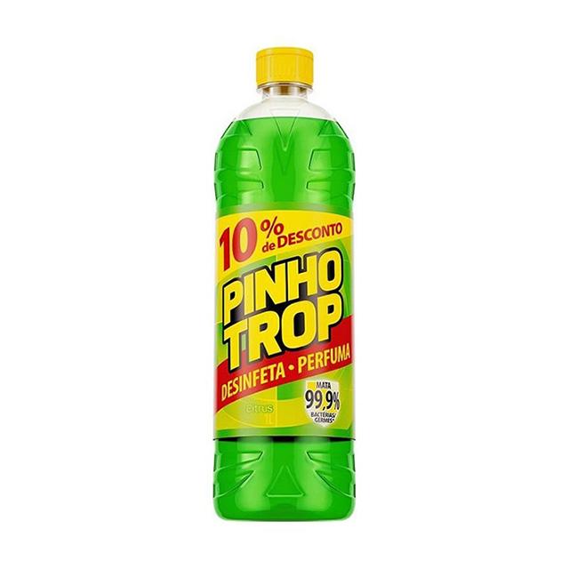Desinfetante Pinho Trop Citrus Leve 1L Pague 900ml