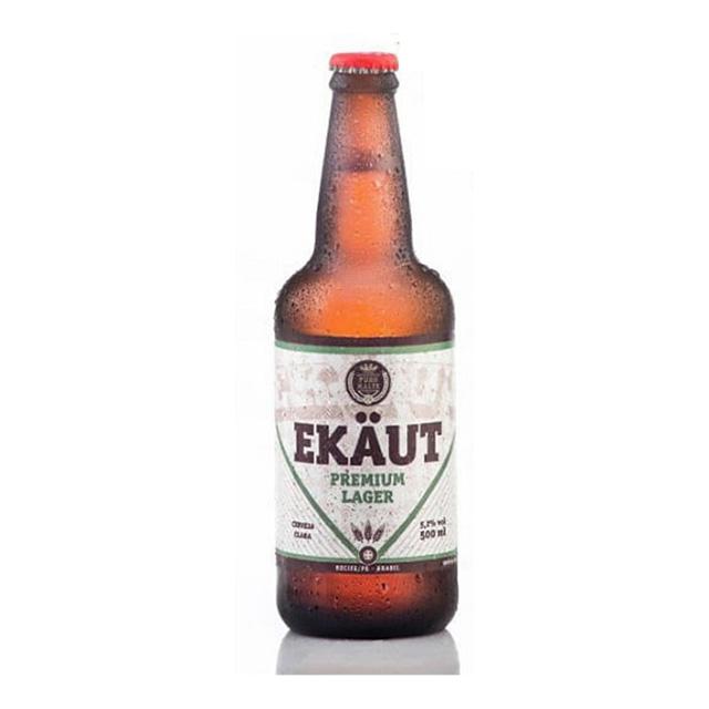 Cerveja Ekaut Premium Lager 500ml