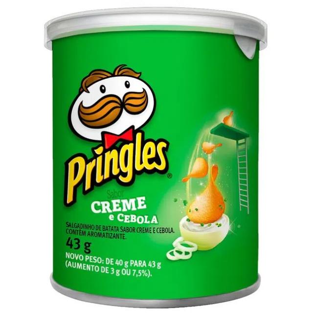 Batata Pringles Sabor Creme e Cebola 43g