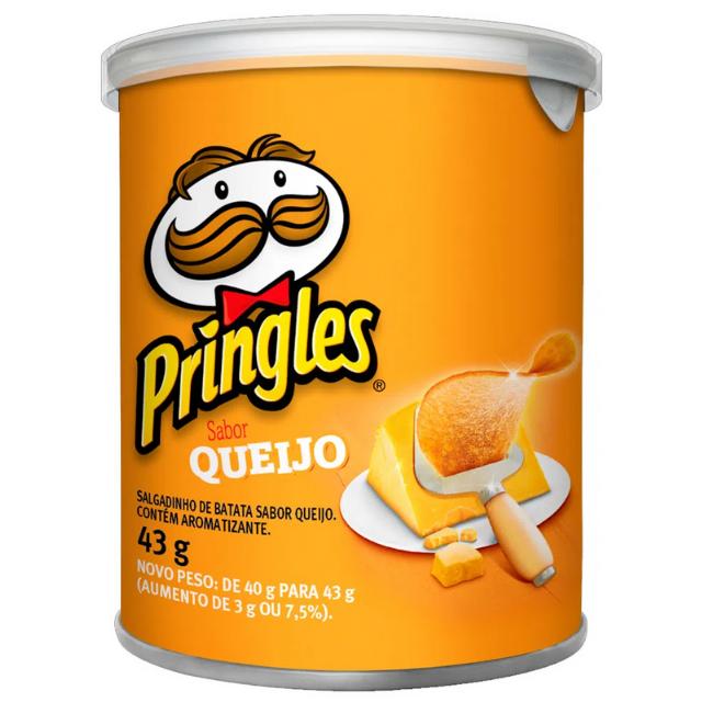 Batata Pringles Sabor Queijo 43g