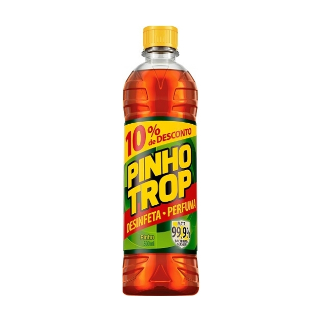 Desinfetante Pinho Trop Pinho 500ml com 10% de desconto