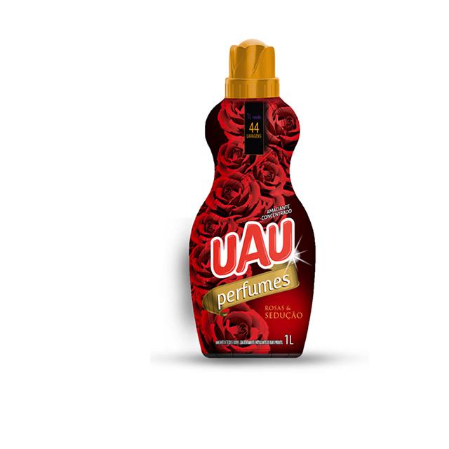 Amaciante Concentrado Uau Perfumes Rosas e Sedução 1lt