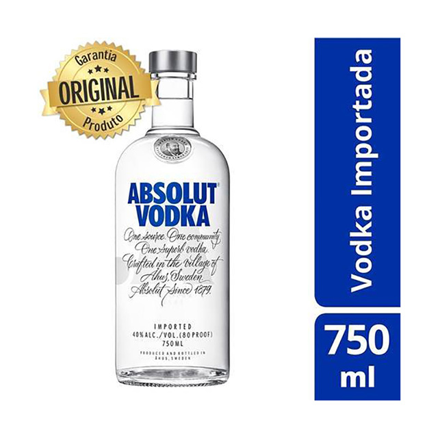 Vodka Absolut 750ml