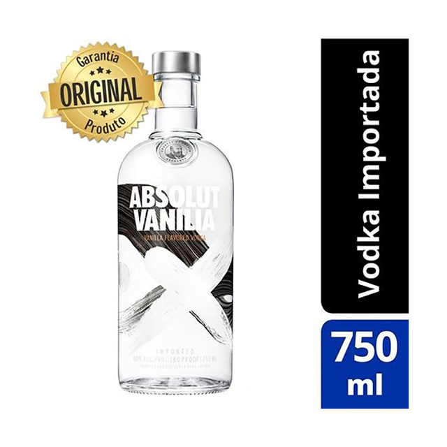Vodka Absolut Vanilla 750ml