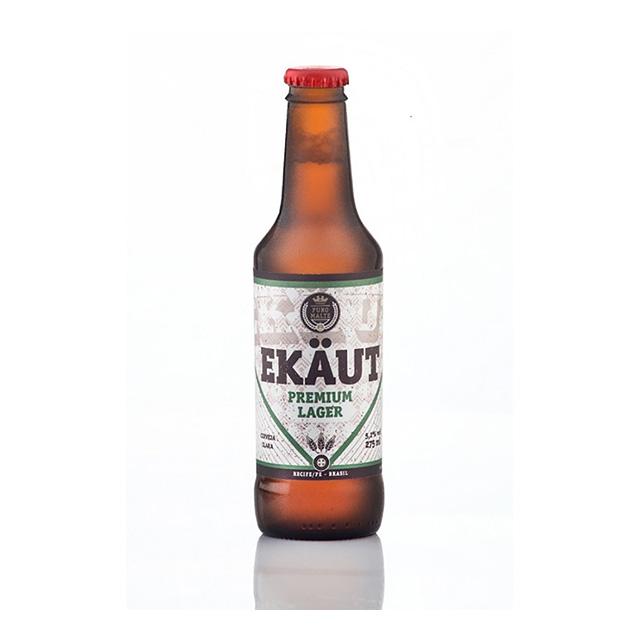 Cerveja EKAUT Premium Lager 275 ml