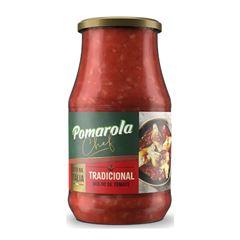 Molho de Tomate Pomarola Tradicional Vidro 420gr