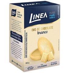 OVO PASCOA BRANCO LINEA 6X180G