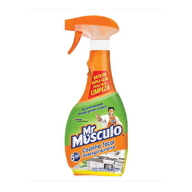 Promocional Mr Músculo Limpeza Cozinha Limao Aparelho 500ml