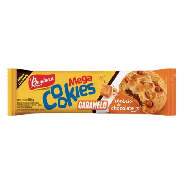 Cookies Mega Bauducco Caramelo 80g