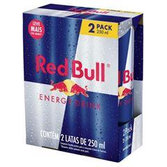 Energético Red Bull Energy Drink Pack com 2 Latas de 250ml