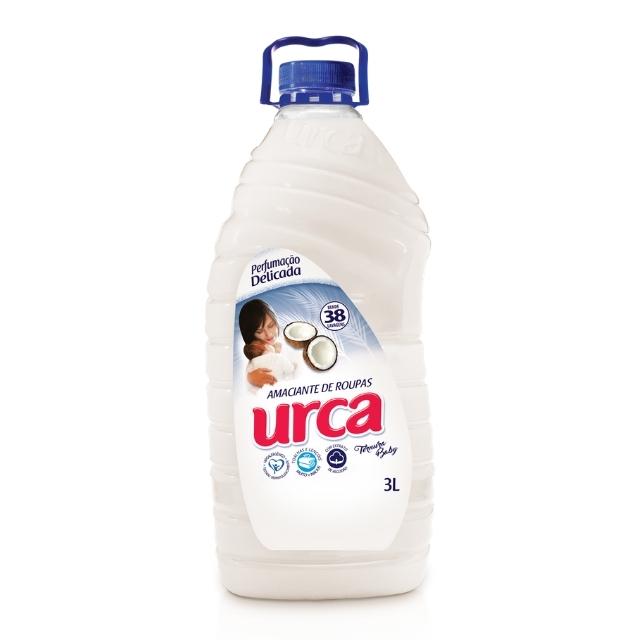 Amaciante Urca Ternura Baby Branco 3L