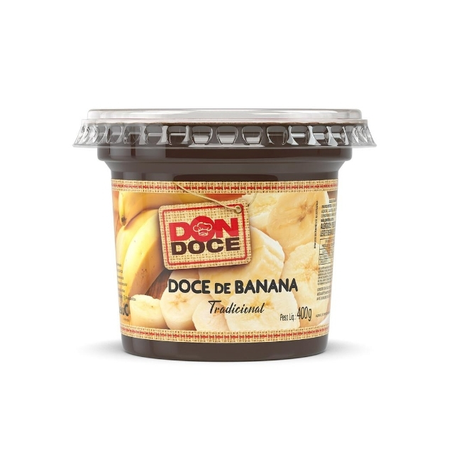 Doce de Banana  Don Doce 400g