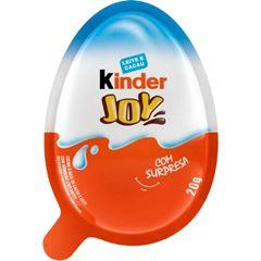 Kinder Joy Azul com  6 unidades de  20g
