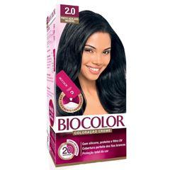 Tintura/Coloração Biocolor 2.0 Preto Azulado Inc Mini
