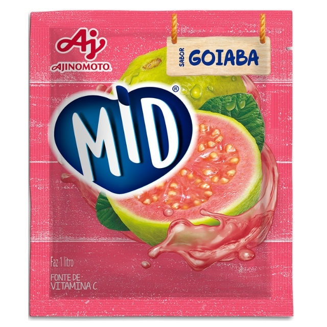 Refresco MID Goiaba 20g