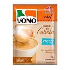 Sopa Vono Chef Creme de Cebola Sodio Reduzido 58g