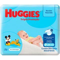 Fralda Huggies Tripla Proteção Jumbinho Tamanho P com 24 Tiras