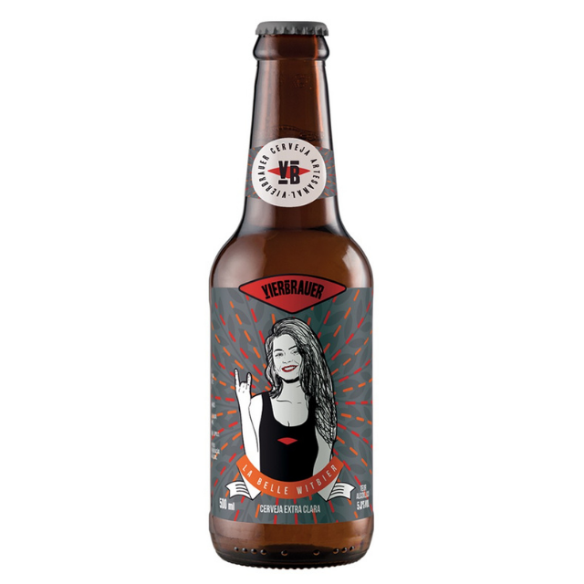 Cerveja Vierbrauer La Belle Witbier 500ml