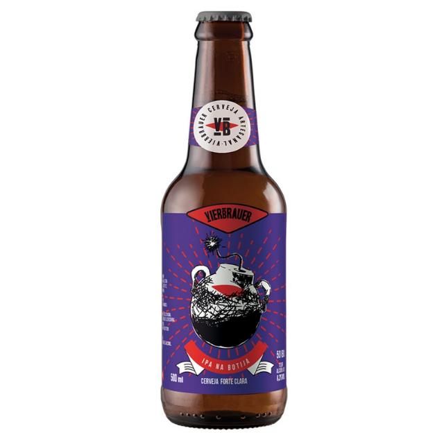 Cerveja Vierbrauer Ipa na Botija 500ml