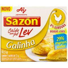 Caldo Sazon Lev Galinha 37,5g